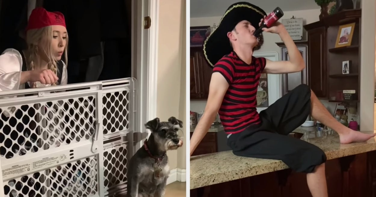 "This Family Recreated The ""Pirates Of The Caribbean"" Ride In Their Home While Self Isolating"